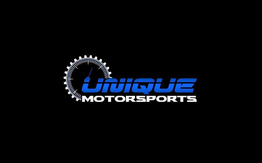 Penyertaan Peraduan #70 untuk Design a Logo for Unique Motorsports