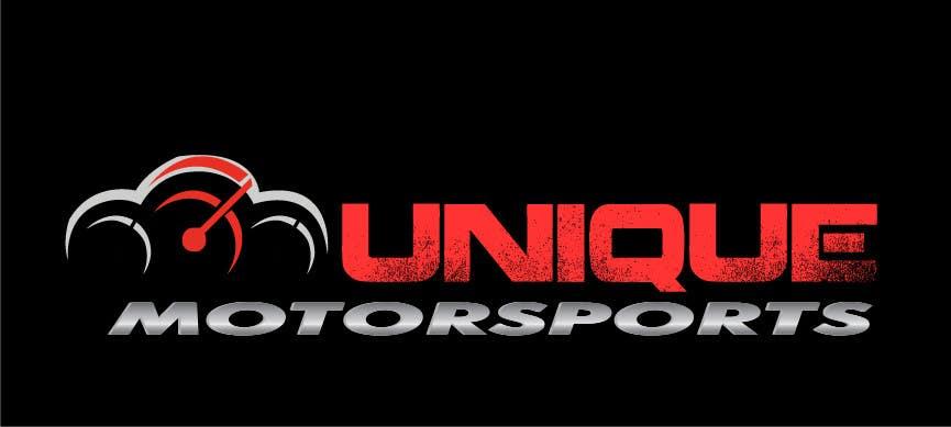 Penyertaan Peraduan #81 untuk Design a Logo for Unique Motorsports