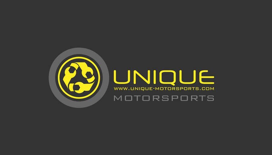 Penyertaan Peraduan #106 untuk Design a Logo for Unique Motorsports