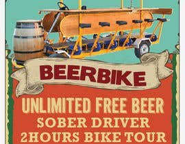 nº 9 pour Design a Flyer for Beerbike par milkshake235