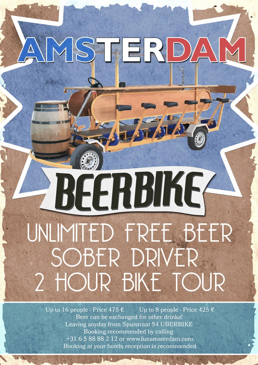 Proposition n°4 du concours Design a Flyer for Beerbike