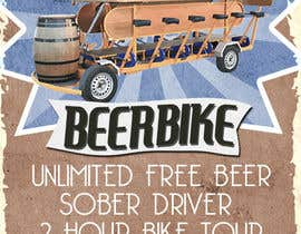 #6 for Design a Flyer for Beerbike af jeremybritz