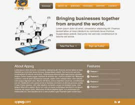 #29 cho Website Design for Appug.com, a new online messaging service (generic web page). bởi wademd