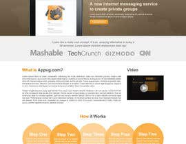#22 cho Website Design for Appug.com, a new online messaging service (generic web page). bởi jluisfgdf