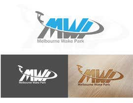 #172 para Design a Logo for 'Melbourne Wake Park' cable wakeboarding por alizainbarkat