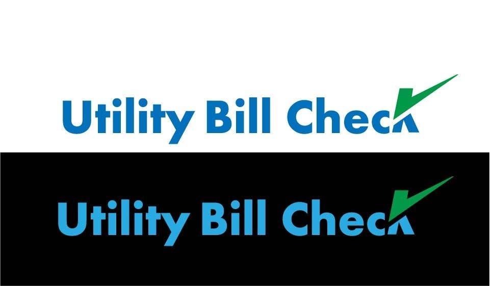 Konkurrenceindlæg #57 for Design a Logo for Utility Bill Check
