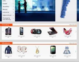 Nro 7 kilpailuun Best Homepage Designer .. käyttäjältä nitinspidey1990