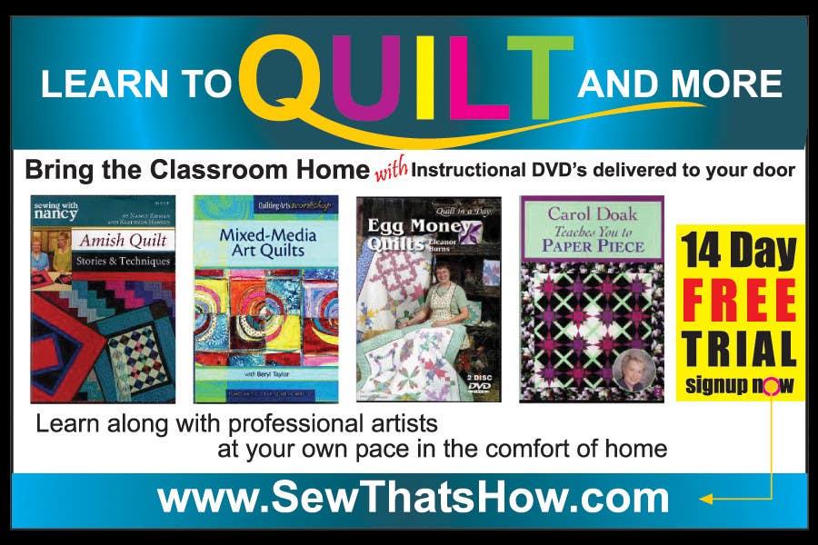 Inscrição nº 98 do Concurso para Graphic Design for SewThatsHow.com