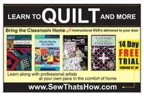 Graphic Design Inscrição do Concurso Nº96 para Graphic Design for SewThatsHow.com