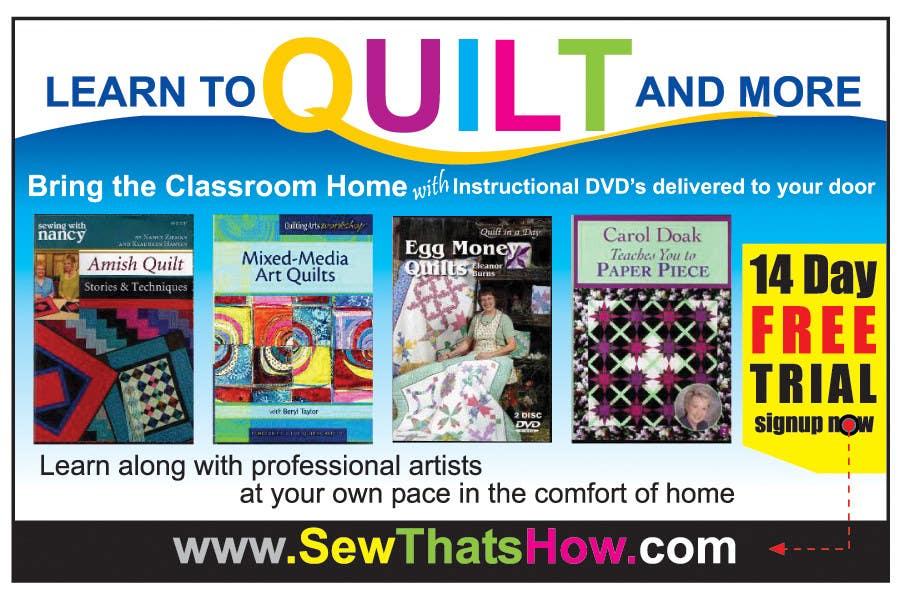 Inscrição nº 118 do Concurso para Graphic Design for SewThatsHow.com