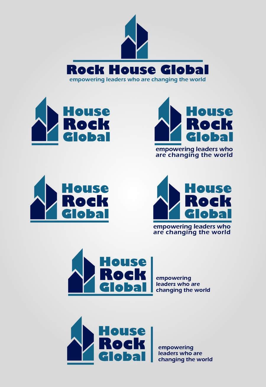 Konkurrenceindlæg #8 for Design a Logo for Rock House Global