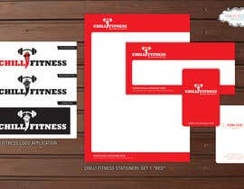 #38 for Design a Logo and stationery for Fitness Club (Chilli Fitness) af pinkskyedesign