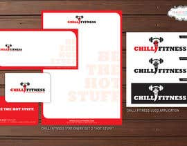 #39 for Design a Logo and stationery for Fitness Club (Chilli Fitness) af pinkskyedesign