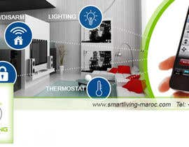 kecy11 tarafından Design a banner for facebook/Website for home automation company için no 13