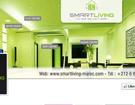 ajdezignz tarafından Design a banner for facebook/Website for home automation company için no 11