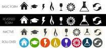 Graphic Design Inscrição do Concurso Nº3 para Design some Icons for Website