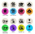 Graphic Design Inscrição do Concurso Nº8 para Design some Icons for Website