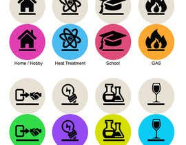 nº 8 pour Design some Icons for Website par dreamstudios0