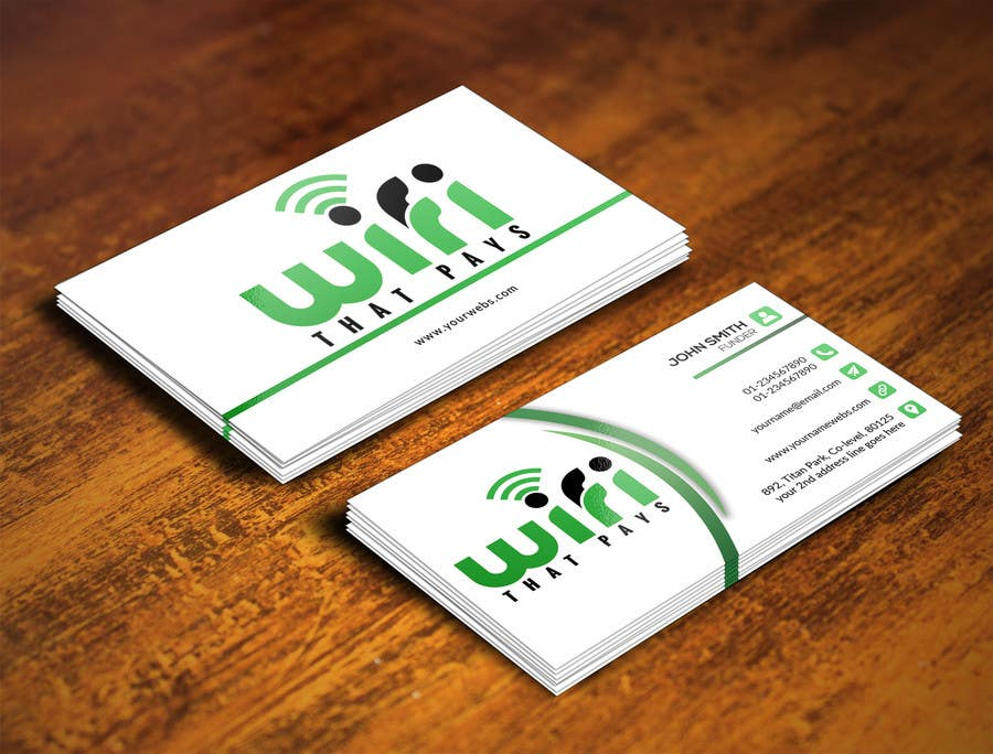 Entry #81 by atikul4you for Design some Business Cards for a Social ...