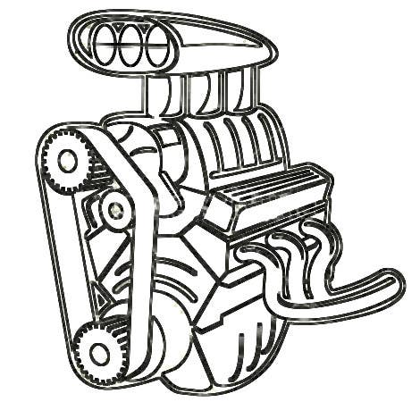 Pictures Of Simple Engine Clipart