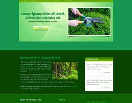 #3 for Need a Logo & Website PSD for Bush Sod Farms af aryamaity