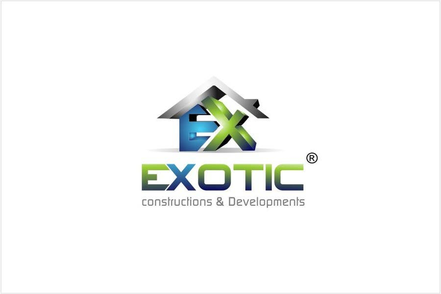 """#276 for Design a conceptual and intelligent Logo for the word """"EXOTIC"""" along with a punchline/ tagline (optional) by timedsgn"""