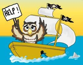 #9 for Owl in a boat by chinacat65
