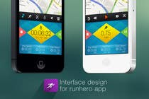 Entry # 29 for Need photshop expert to re-design part of user interface (Running App) by