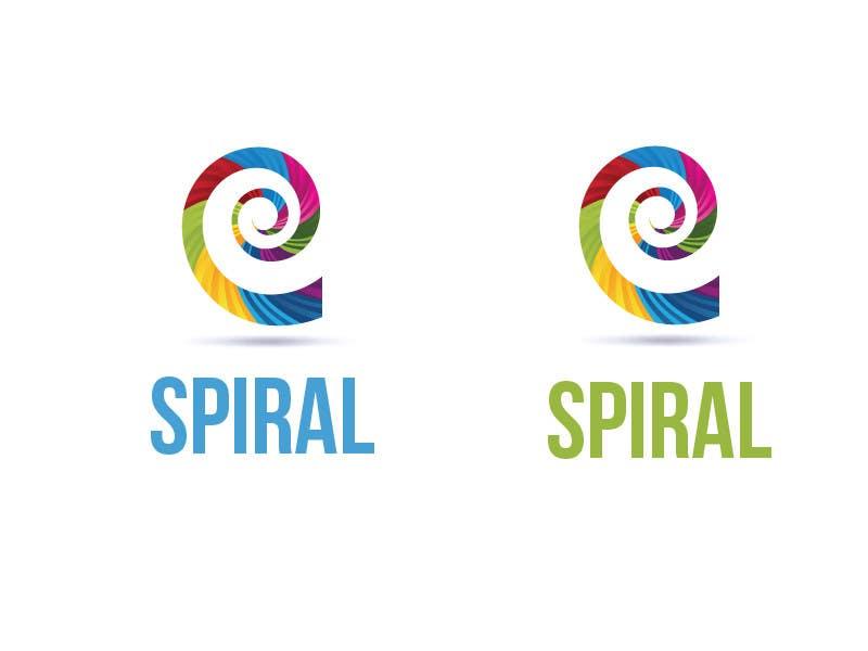 Penyertaan Peraduan #16 untuk Designa en logo for Spiral