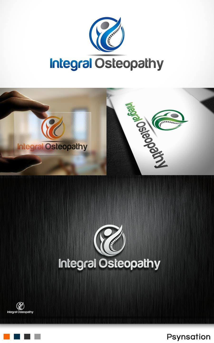 Proposition n°50 du concours Design a Logo for Integral Osteopathy