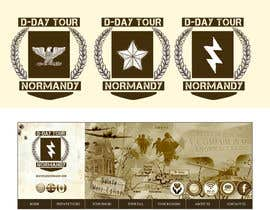 nº 8 pour D-DAY TOURS NORMANDY LOGO par N7elite
