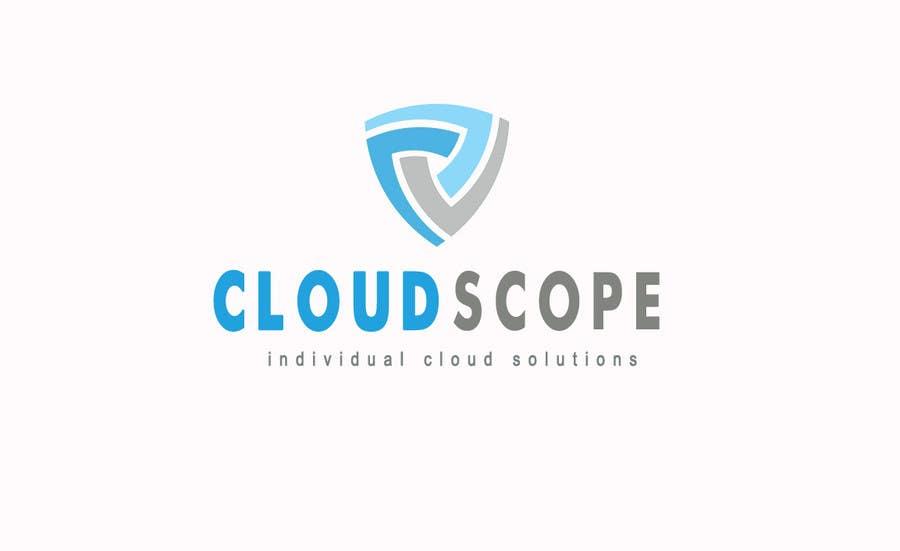 Inscrição nº 567 do Concurso para Logo Design for CloudScope