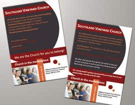 #79 para Flyer Design for Southland Vineyard Church por BenettAdv