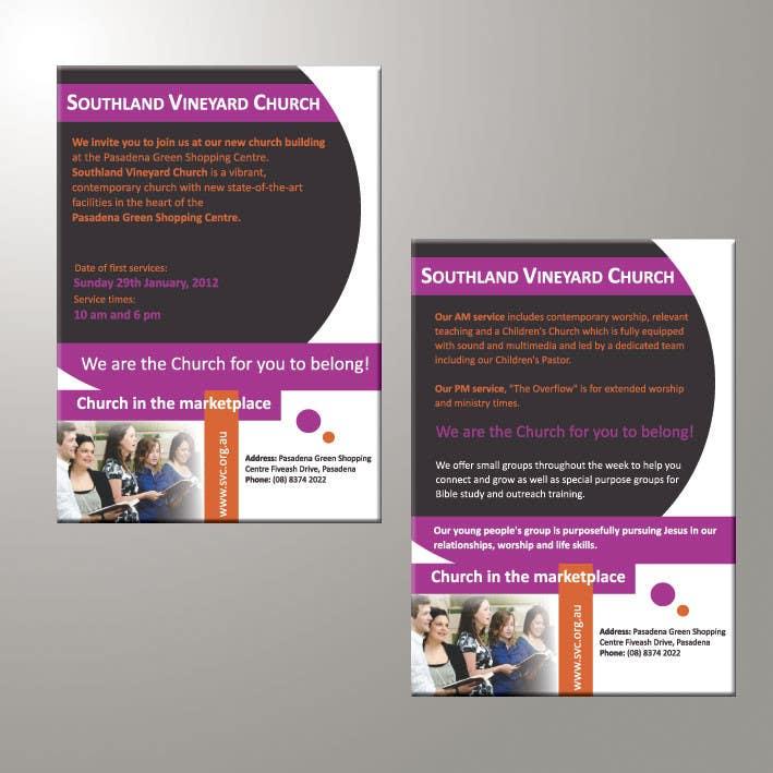Participación en el concurso Nro.80 para Flyer Design for Southland Vineyard Church