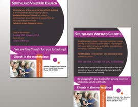 BenettAdv tarafından Flyer Design for Southland Vineyard Church için no 80