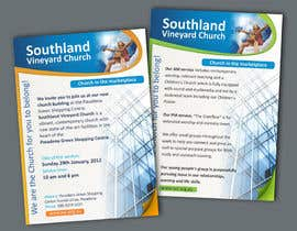 #63 for Flyer Design for Southland Vineyard Church by BenettAdv