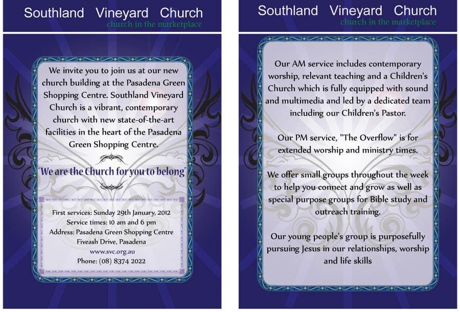 Inscrição nº                                         43                                      do Concurso para                                         Flyer Design for Southland Vineyard Church