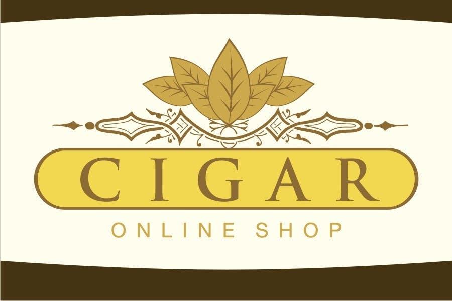Inscrição nº 146 do Concurso para Logo Design for Cigar Online Shop