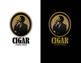 nº 43 pour Logo Design for Cigar Online Shop par FabioG