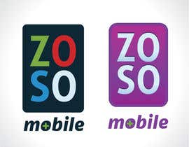 #69 para Design a Logo for ZOSO Mobile por ElPulpo23