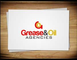 #112 for Design a Logo for GREASE & OIL AGENCIES af trying2w