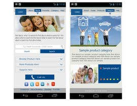 #9 untuk Design a Mobile Website Mockup for a multinational insurance company oleh king5isher