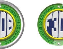 Nro 25 kilpailuun Logo para Filamentos 3D Brasil käyttäjältä JeddayArt