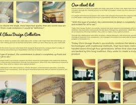#33 untuk Brochure Design for Chris Savage Plaster Designs oleh ShinymanStudio