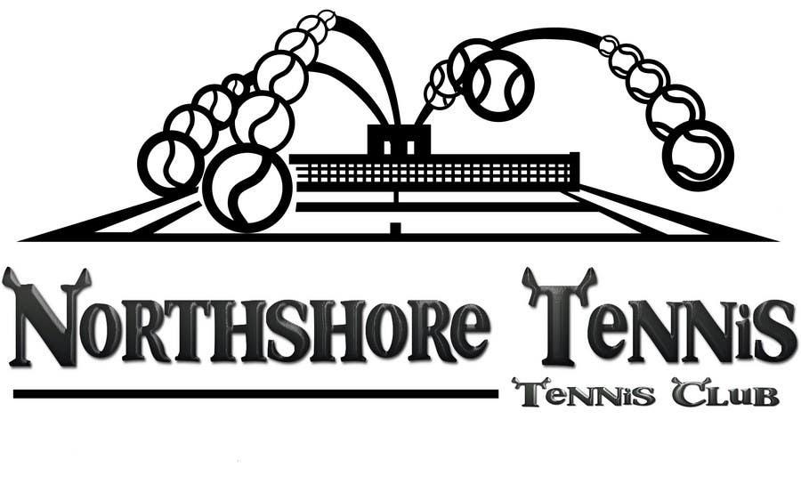 "Intrarea #78 pentru concursul ""Logo Design for Northshore Tennis"""