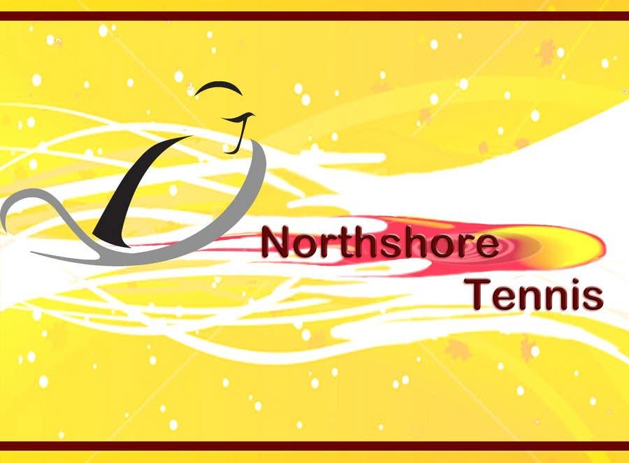 Kilpailutyö #66 kilpailussa Logo Design for Northshore Tennis