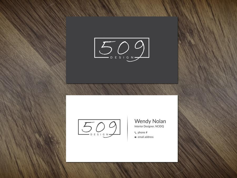 Entry #21 by dinesh0805 for Design Business Cards for two people ...