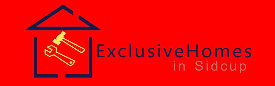 Penyertaan Peraduan #91 untuk Design a Logo for our Exclusive Homes Service