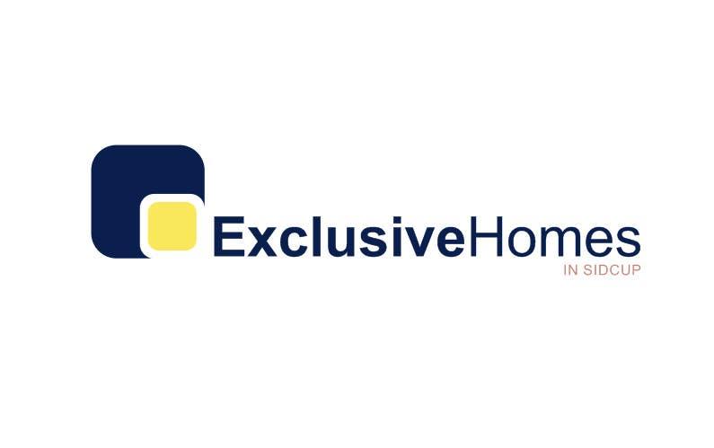 Penyertaan Peraduan #154 untuk Design a Logo for our Exclusive Homes Service