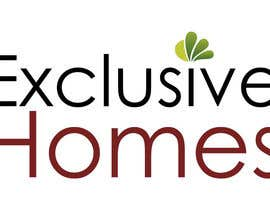 #110 para Design a Logo for our Exclusive Homes Service por poojark